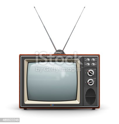 istock Old TV 485522245
