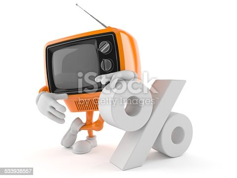 istock Old TV 533938557