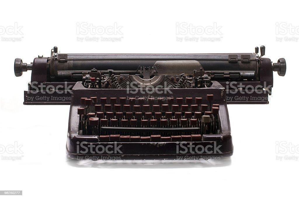 Vecchia macchina da scrivere foto stock royalty-free