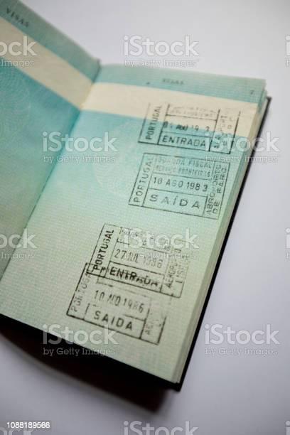 Old UK passport pre EU membership
