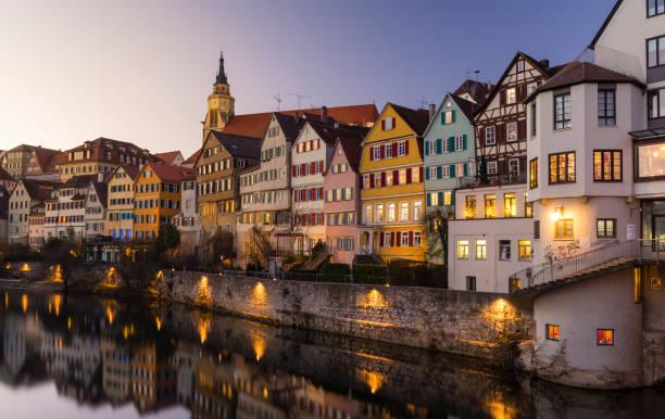 Old University Town Tuebingen, Germany stock photo