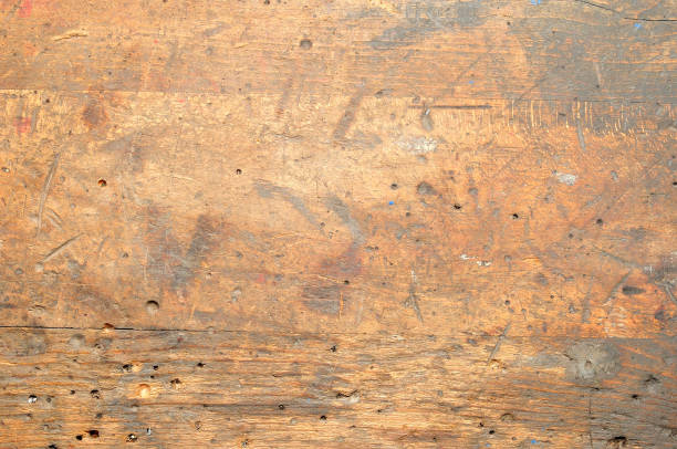 Old used dirty workbench for background or texture. Old used dirty workbench for background or texture. workbench stock pictures, royalty-free photos & images