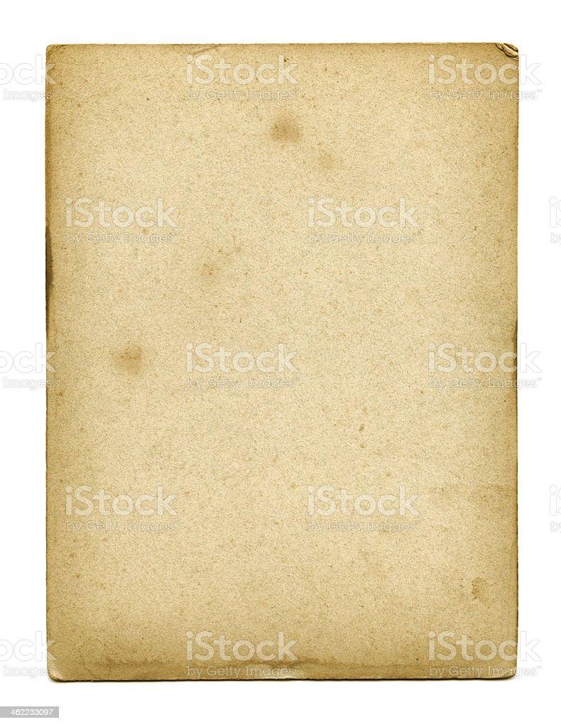 Textura de papel velho usado - foto de acervo