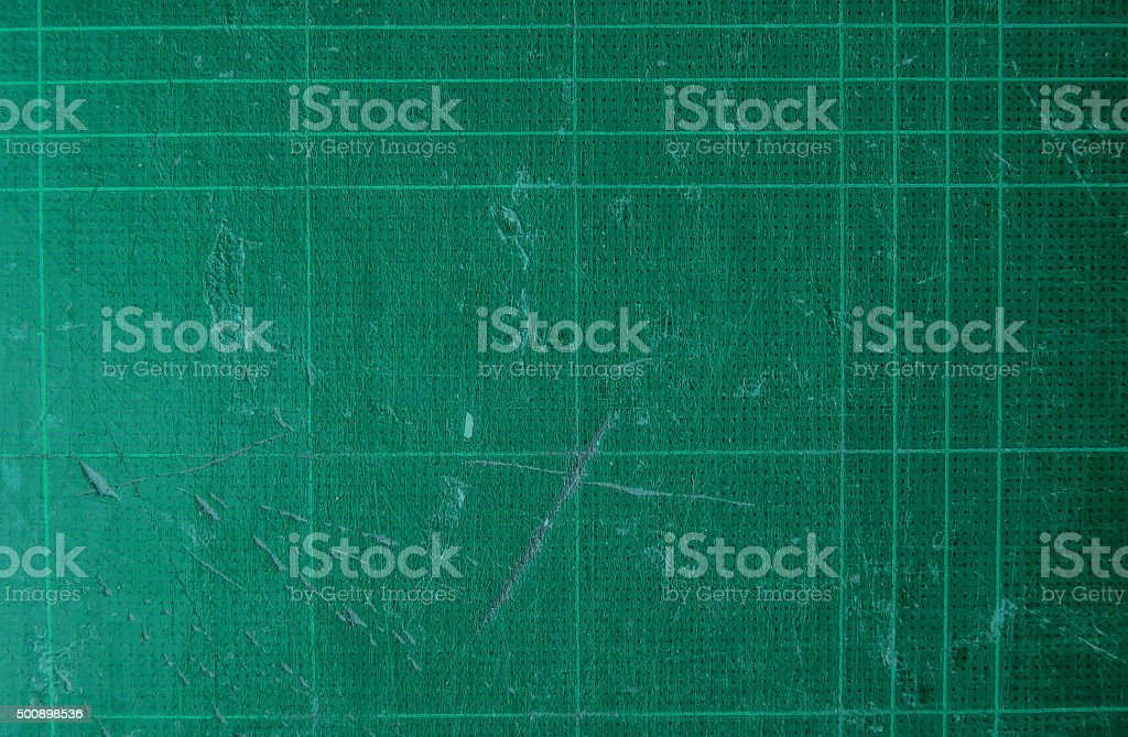 old used scratch cutting mat texture stock photo