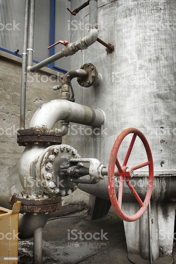 Old valve royalty-free stock photo