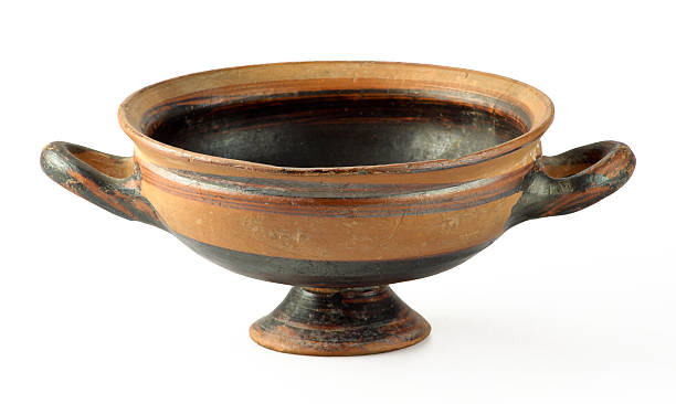 Old vase bis stock photo