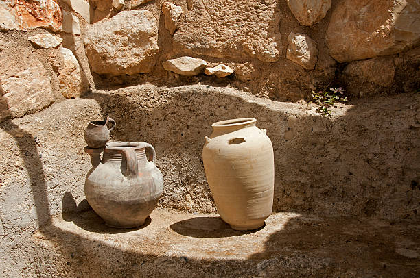 old vases in israel - 大比大 聖經人物 個照片及圖片檔