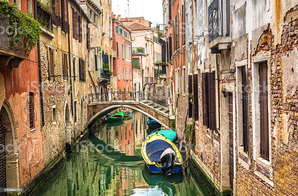 Old Venice stock photo