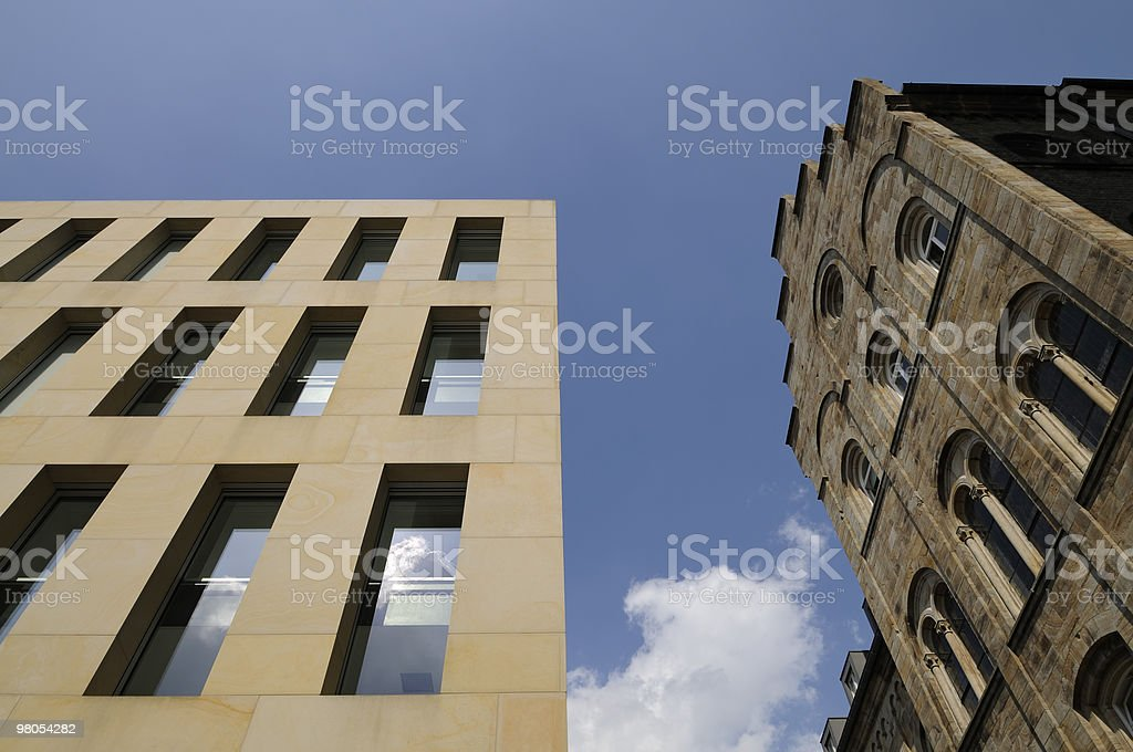 Old versus new royalty-free stock photo