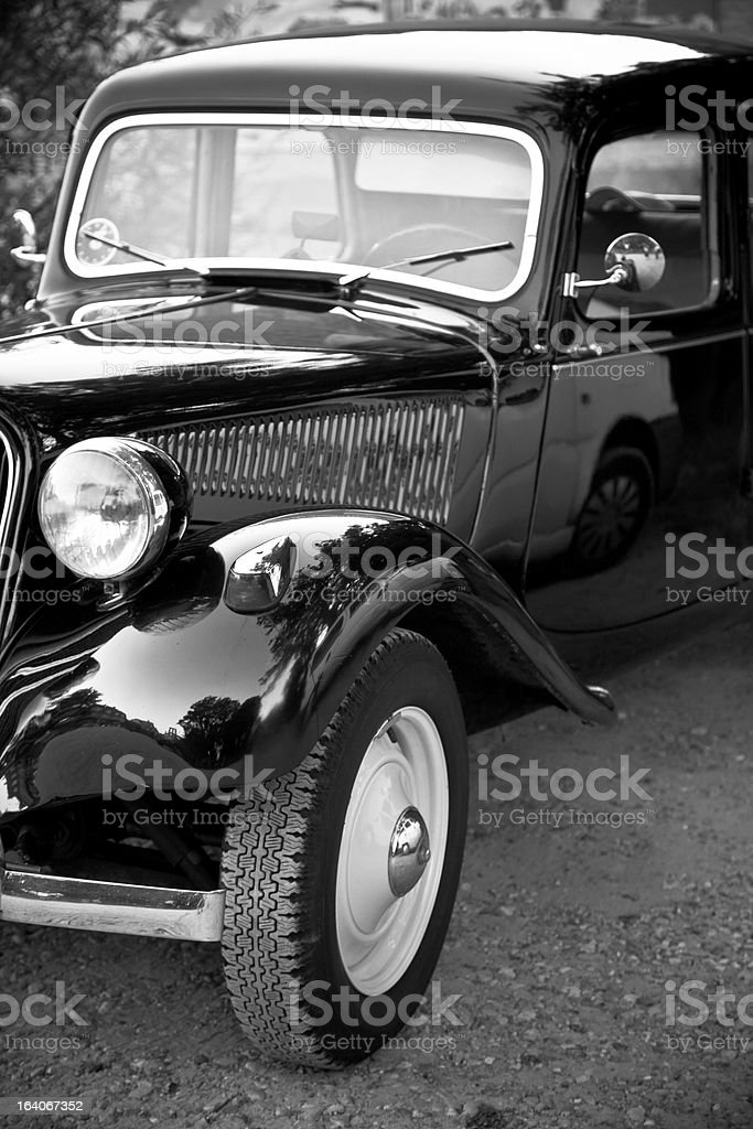 Old Veteran Car. royalty-free stock photo
