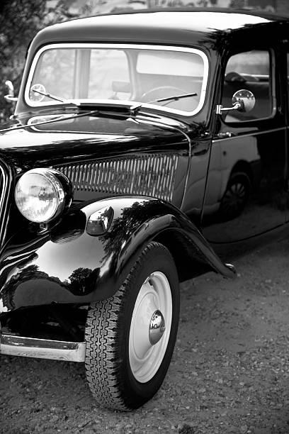 Old Veteran Car. stock photo