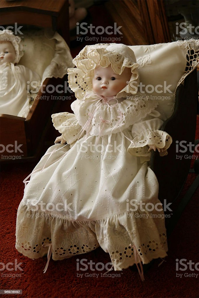 Old Victorian Doll royalty-free stock photo