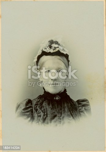 478384809 istock photo Old Victorian Lady 183414204