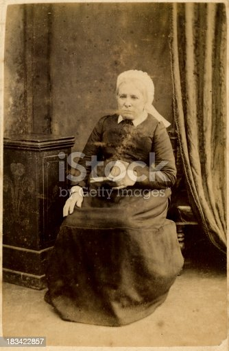 478384809 istock photo Old Victorian Lady 183422857
