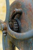 Old pump in Tudor garden