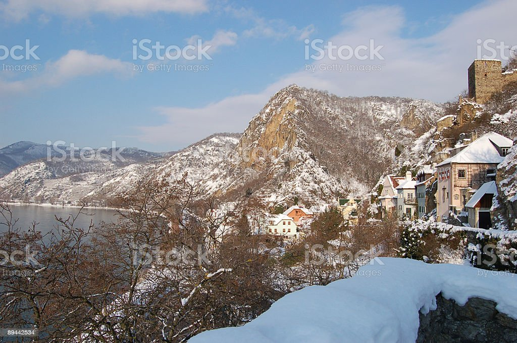 Old Village In The Mountains royalty-free stock photo