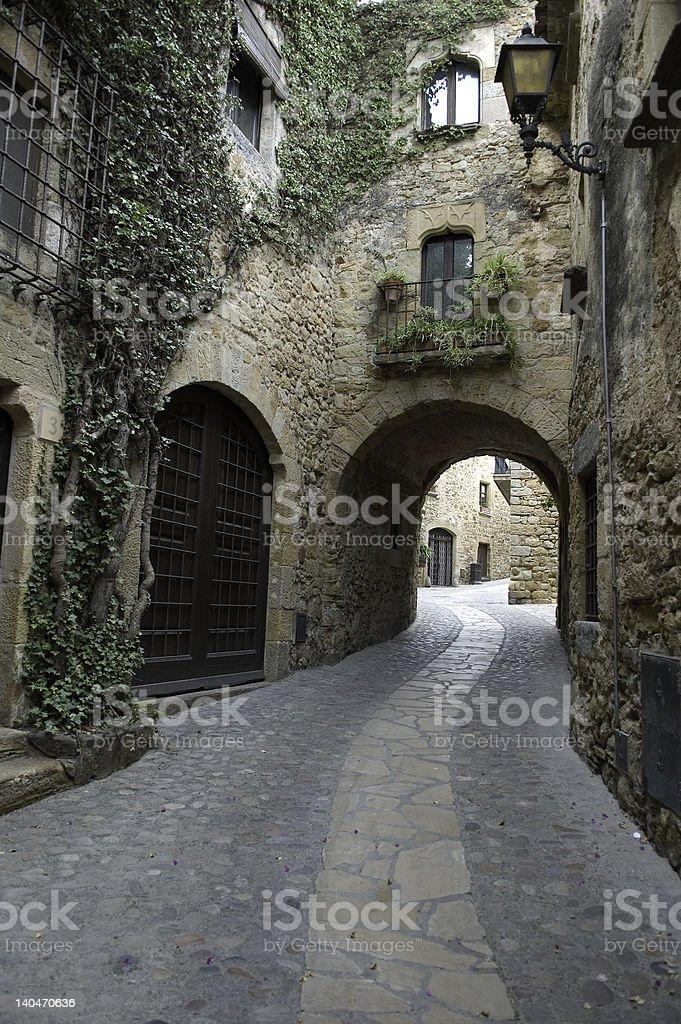Old Village royalty-free stock photo