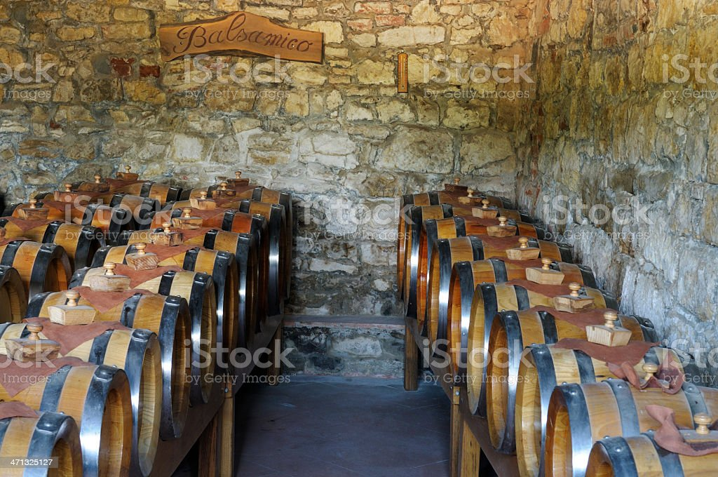 Old Vinegar Cellar royalty-free stock photo