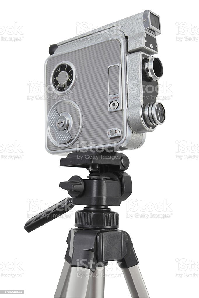 Alte Vintage 16 mm-Kamera Lizenzfreies stock-foto