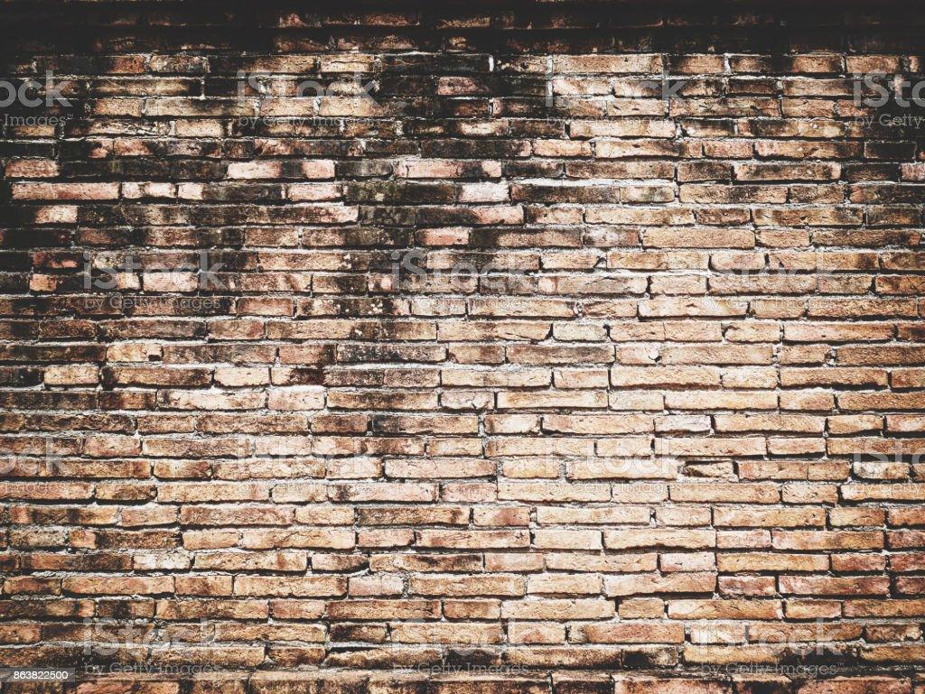 Mur En Brique Rouge photo libre de droit de vielle brique vintage design texture de mur brique  rouge vide fond de présentations et de web design un lot de lespace pour