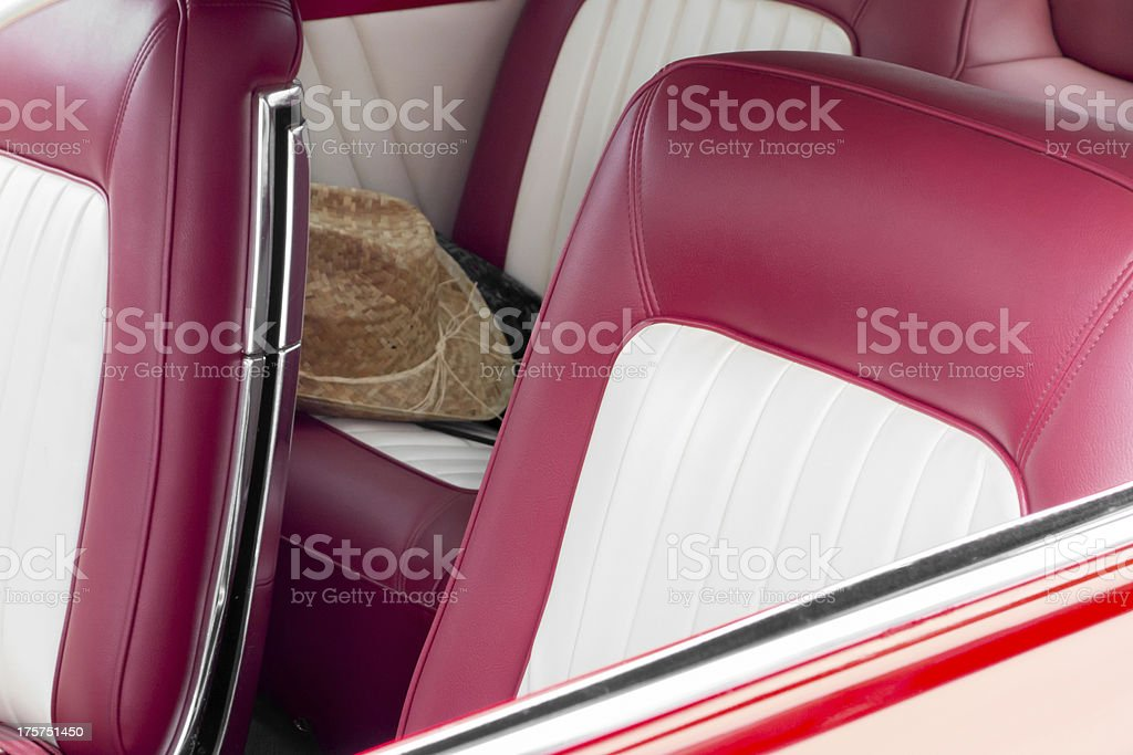 Old vintage car royalty-free stock photo