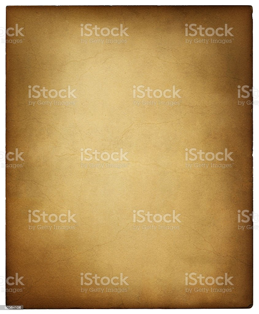 Old Vintage Card royalty-free stock photo