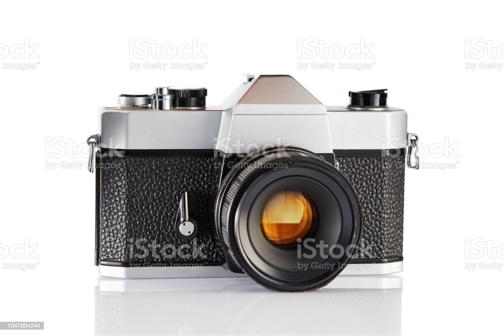 Old Vintage Film Camera Stock Photo - Download Image Now
