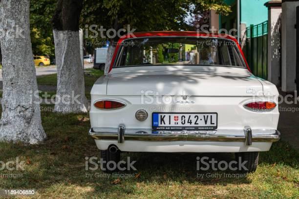 Old vintage Ford 12M (1962–1966).