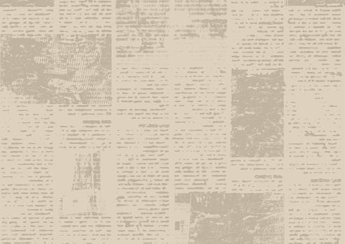 Photo libre de droit de Vieux Fond De Texture De Papier De Journal Grunge De Cru banque d'images ...