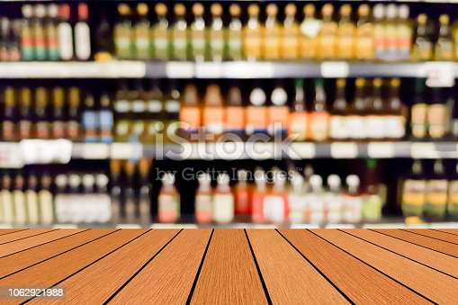 1044304084istockphoto old vintage grungy brown wood panel tabletop with blurred restaurant bar cafe light color background for show,promote and advertise product on display 1062921988