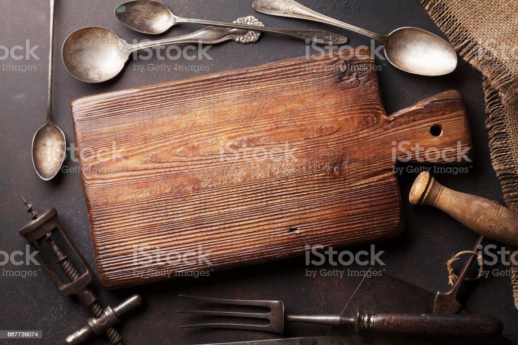 Alte Vintage Kuchenutensilien Stockfoto Und Mehr Bilder Von Alt Istock