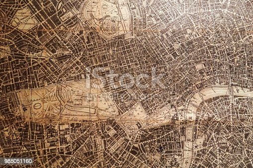 istock old vintage map 985051160
