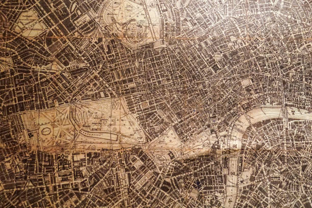 old vintage map old vintage map map photos stock pictures, royalty-free photos & images