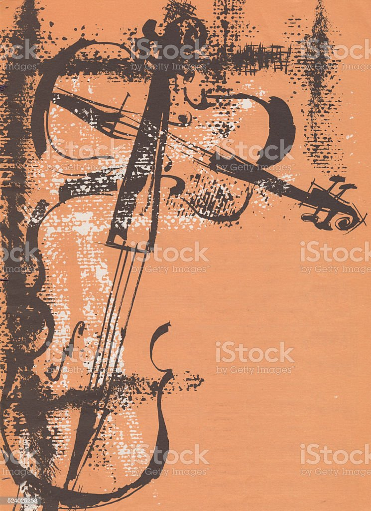 Old Vintage Music Posters Stock Photo - Download Image Now