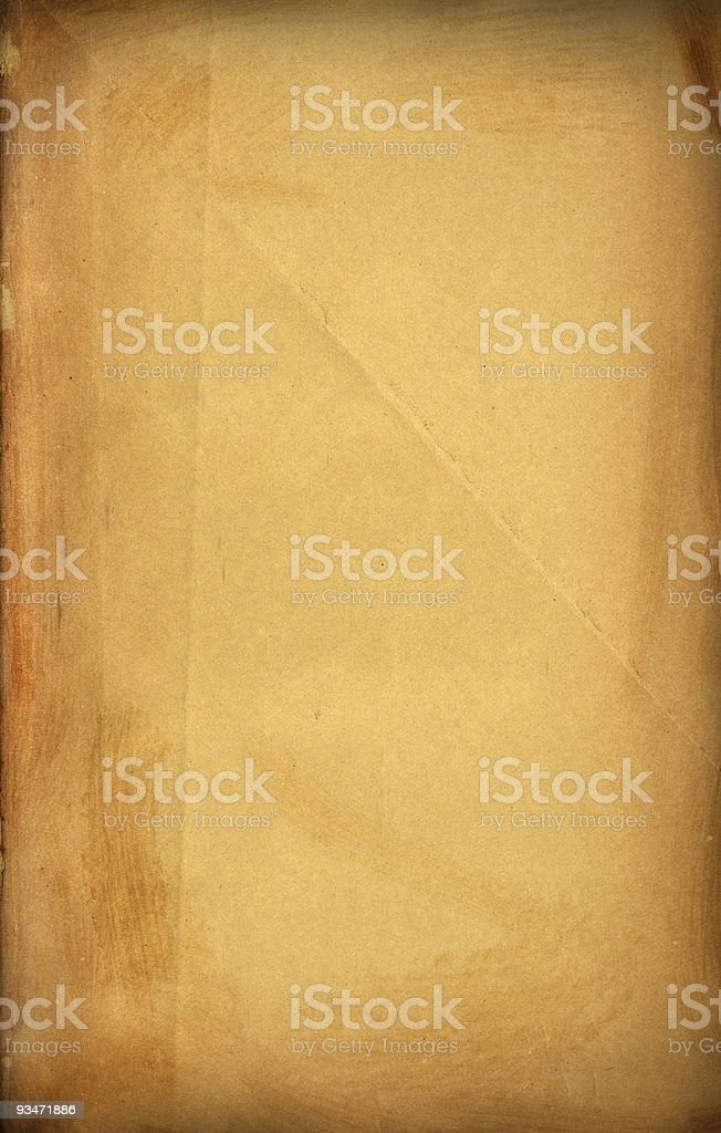 Old, Vintage Paper royalty-free stock photo