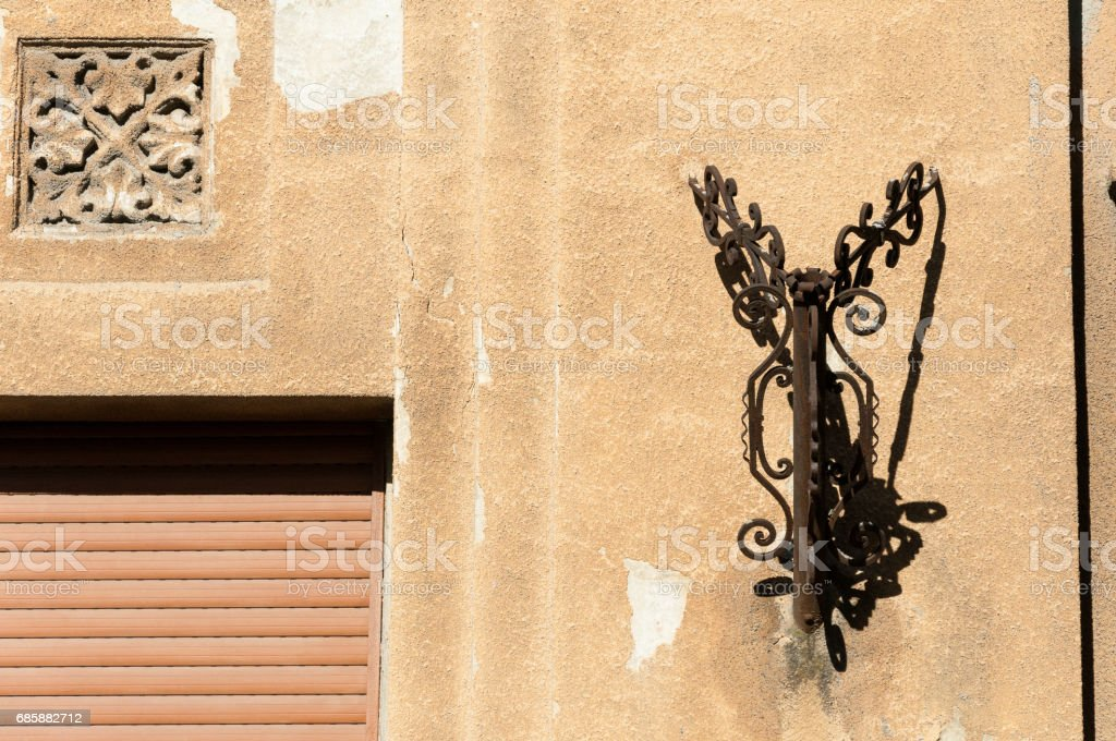 Superior Old Vintage Rusty Flag Carrier On The House Exterior Wall Flag Holder Stock  Photo U0026 More Pictures Of Art | IStock