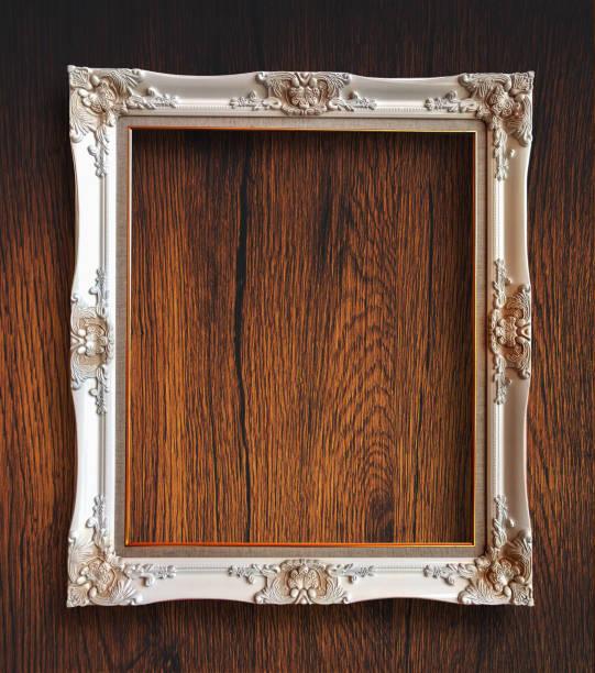 Alten Jahrgang rutic Holz Bilderrahmen – Foto