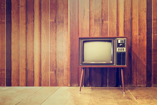 Alte vintage-Fernseher und Fernseher – Foto