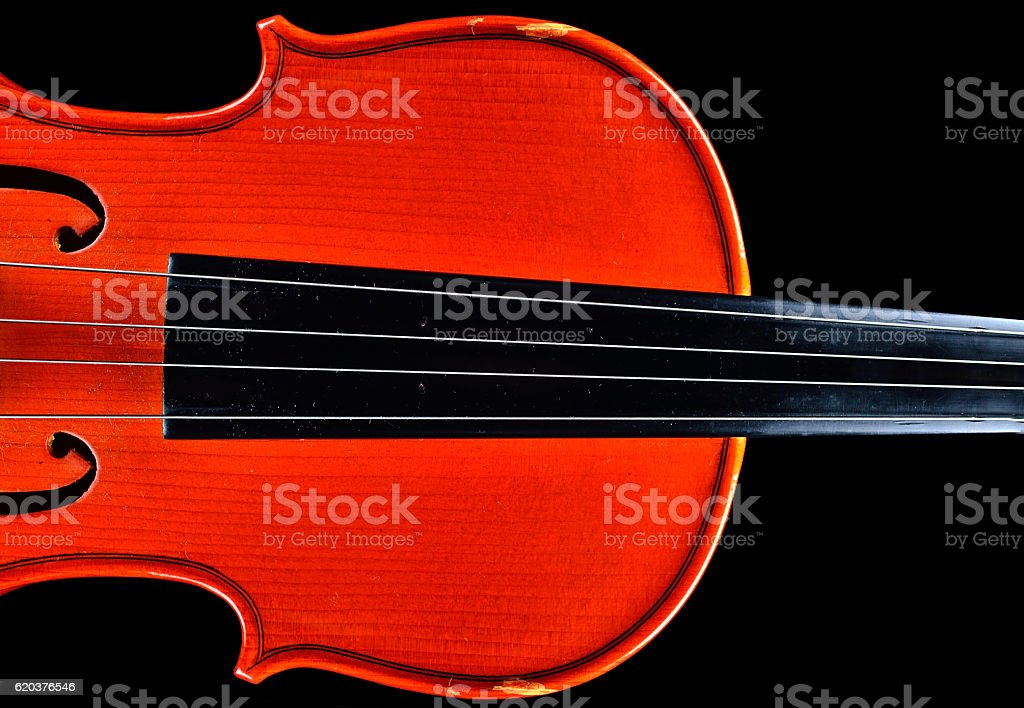 old violin on on silk fabric foto de stock royalty-free