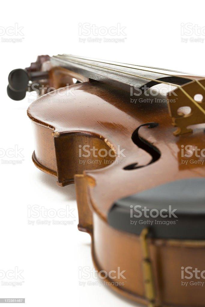 Old violín foto de stock libre de derechos