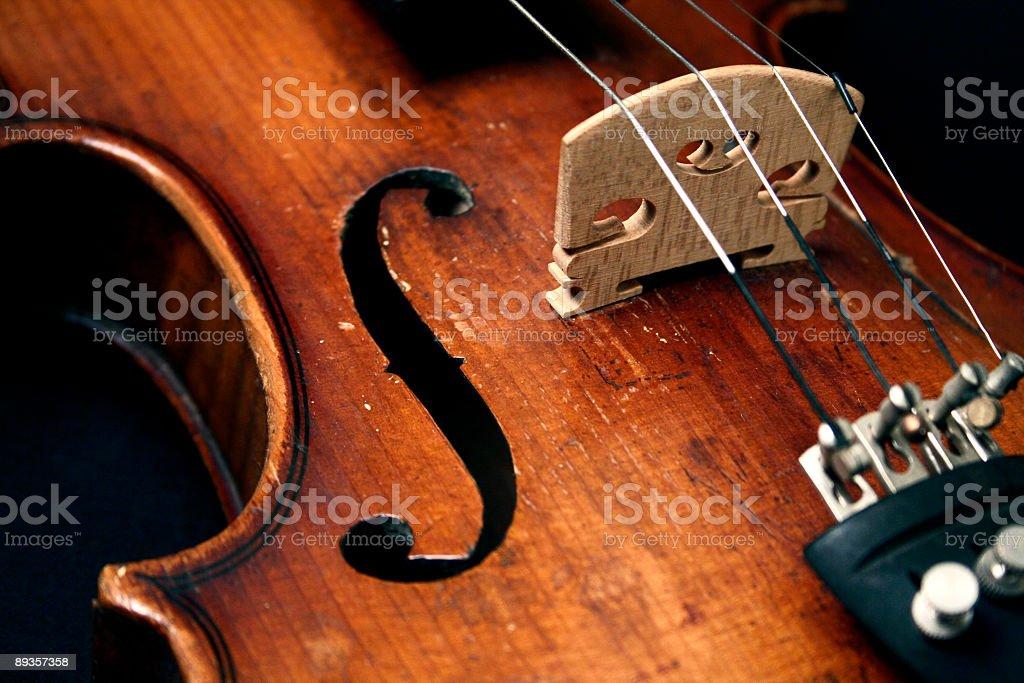 Old violin royalty free stockfoto