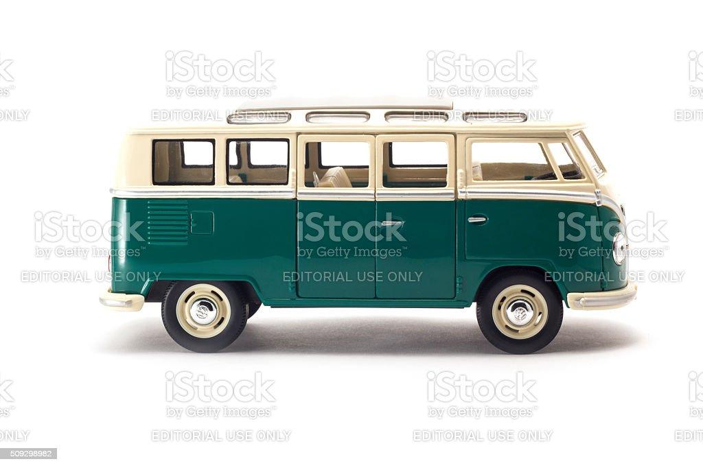 Old Volkswagen Bus stock photo