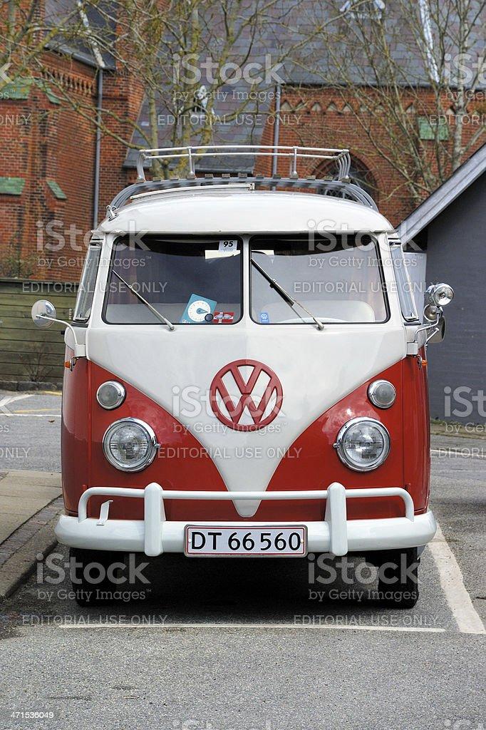 Old Volkswagen Transporter stock photo