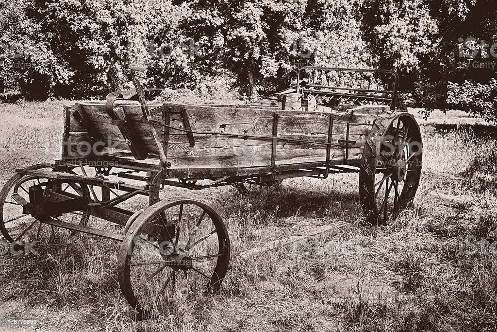Old Wagon Photo stock photo