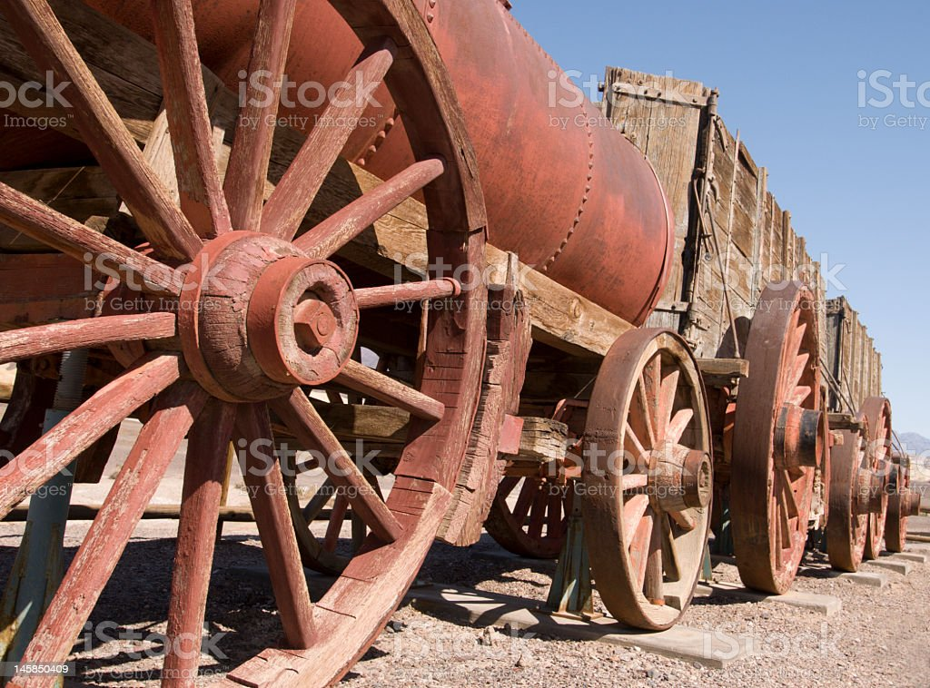 Old wagon royalty-free stock photo