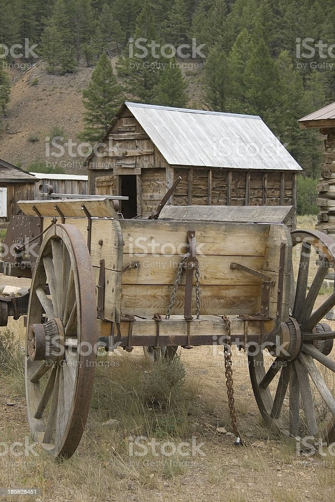Old Wagon royalty-free stock photo