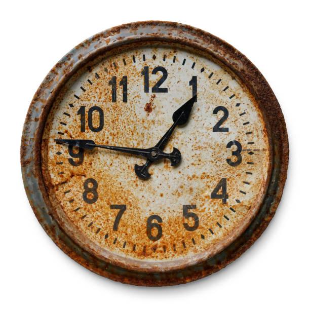 antiguo reloj de pared - wall clock fotografías e imágenes de stock