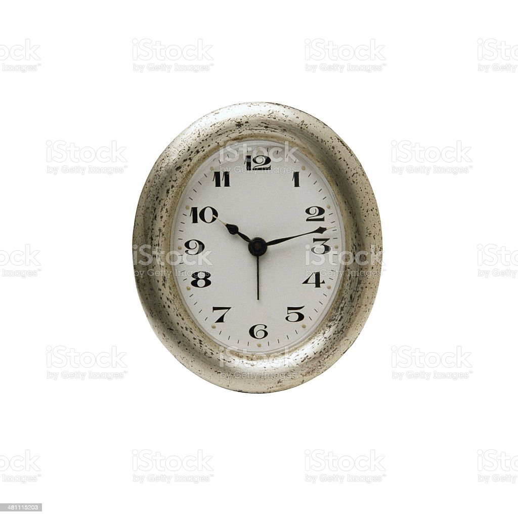 Old wall clock stock photo