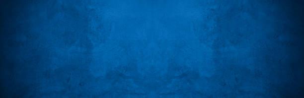 오래 된 벽 패턴 텍스처 시멘트 블루 어두운 추상적 인 파란색 색상 디자인은 검은 그라데이션 배경빛입니다. - abstract background 뉴스 사진 이미지