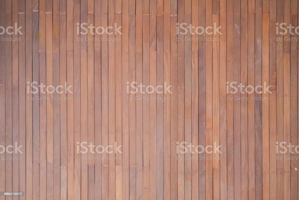 Old wall plank in red and brown tone, Plank several sheets used to make walls for background. royalty-free stock photo
